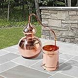 The Handcrafted European Copper Distiller