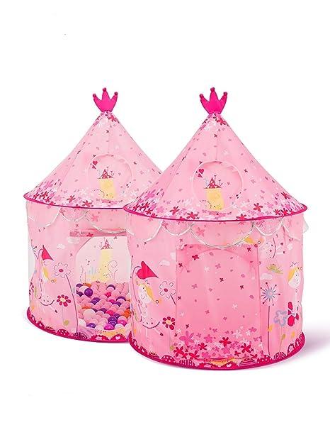 Amazon Com Sparkly Little Princess Kids Princess Decorations Castle