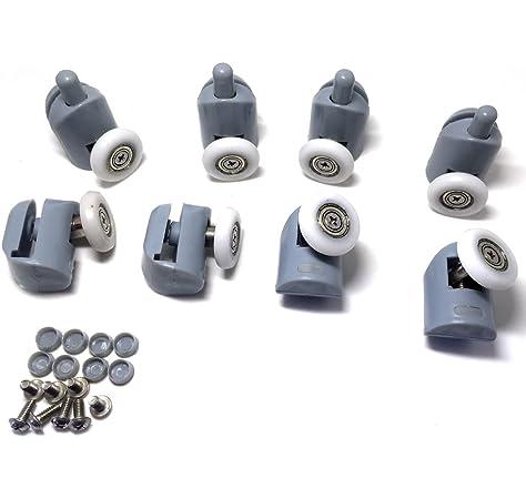 Rodamientos para mampara de ducha, 8 unidades, piezas de repuesto ...