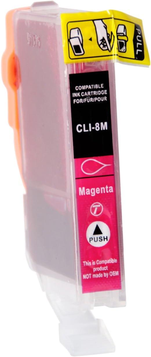 D C 10x Druckerpatronen Kompatibel Für Canon Pgi 5 Cli 8 Für Canon Pixma Ip3300 Ip3500 Ip4200 Ip4200x Ip4300 Ip4500 Ip4500x Ip5200 Ip5200r Ip5300 Ip6600 Ip6700 Ix4000 Ix5000 Mp500 Mp510 Mp520 Mp520x Bürobedarf