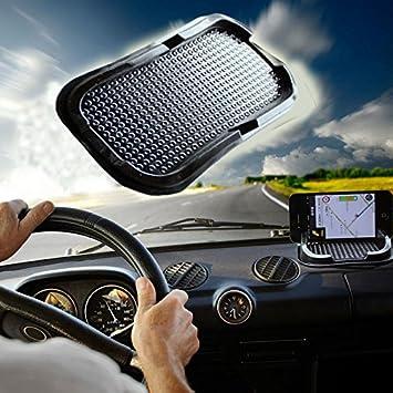 Sedeta soporte de coche Almohadillas, almohadilla adhesiva para salpicadero alfombrilla Anti- Slip Gadget titulares teléfono accesorios para GPS superficie ...