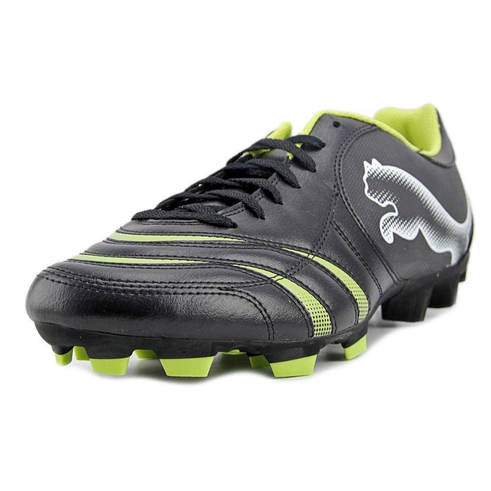 Puma Powercat 4. 10 FG Men US 12 Black Cleats  Buy Online at Low Prices in  India - Amazon.in c2a06e69e