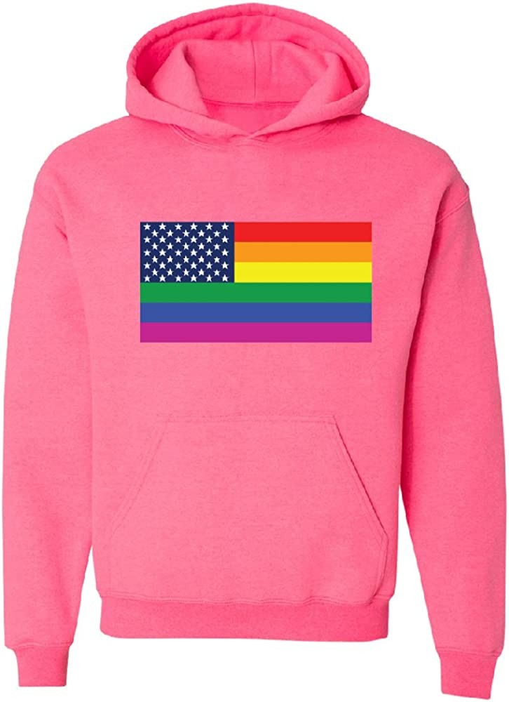 Gay United Flag Gay Pride LGBT Unisex Hoodie Love Wins Gay Walk Sweater