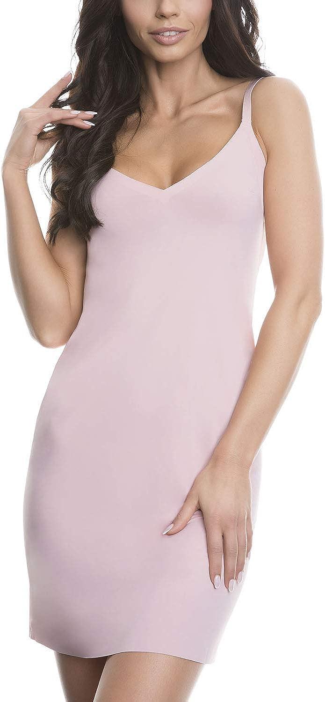 Julimex Femme Fond De Robe Uni Lisse sans Coutures Lingerie Soft /& Smooth