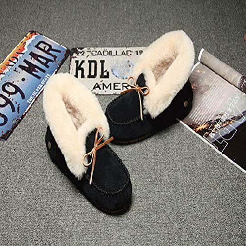 Corte C Zapatos Invierno Y Alta Otoño Mujer Planos De Casuales Guisantes qUvxzHOwt