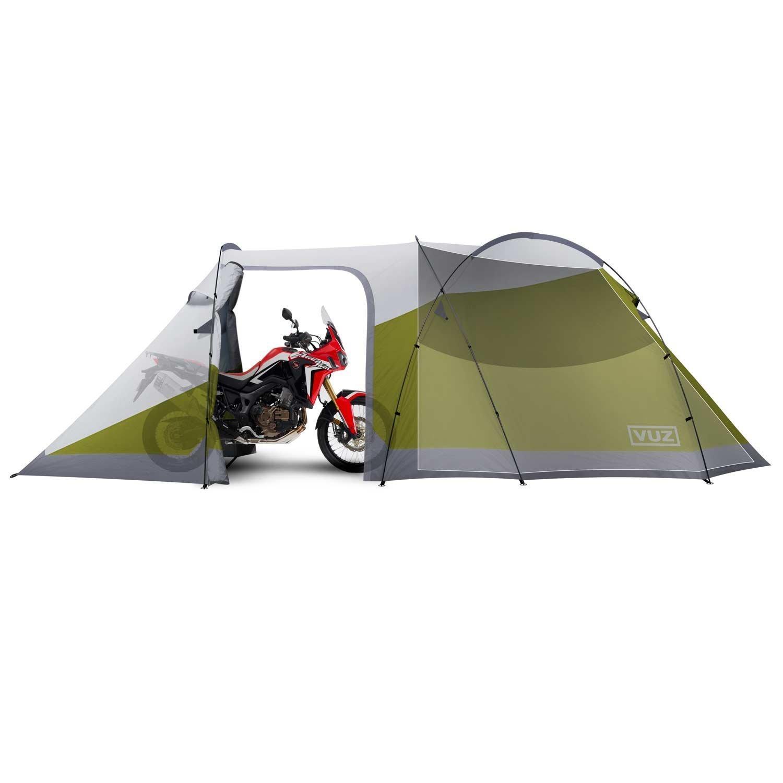 Vuz Moto 12 Foot Waterproof Motorcycle Tent With