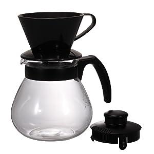 "Hario ""Teco"" Coffee Dripper Set, 1000ml"