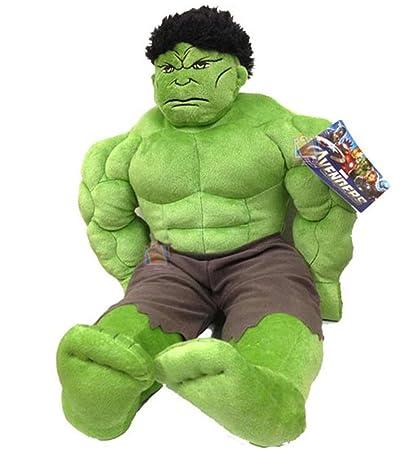 Amazon.com: Marvel Los Vengadores ~ la increíble Hulk Cuddle ...