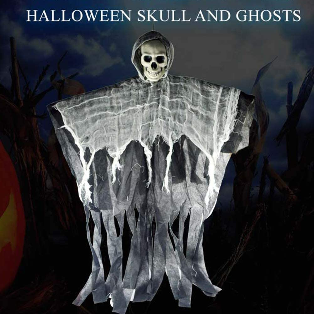 Amazon Gsdviyh36 100cm Halloween Skull Hanging Ghost