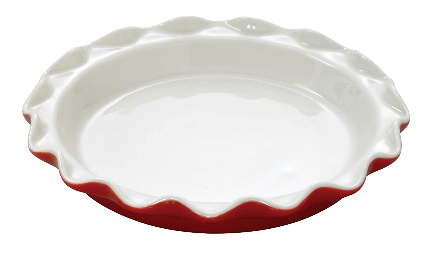 HIC Harold Import Rose Levy Beranbaum's Rose's Mini Pie Plate, 7-Inch, Set of 2, Red Harold Import Company RL5/2