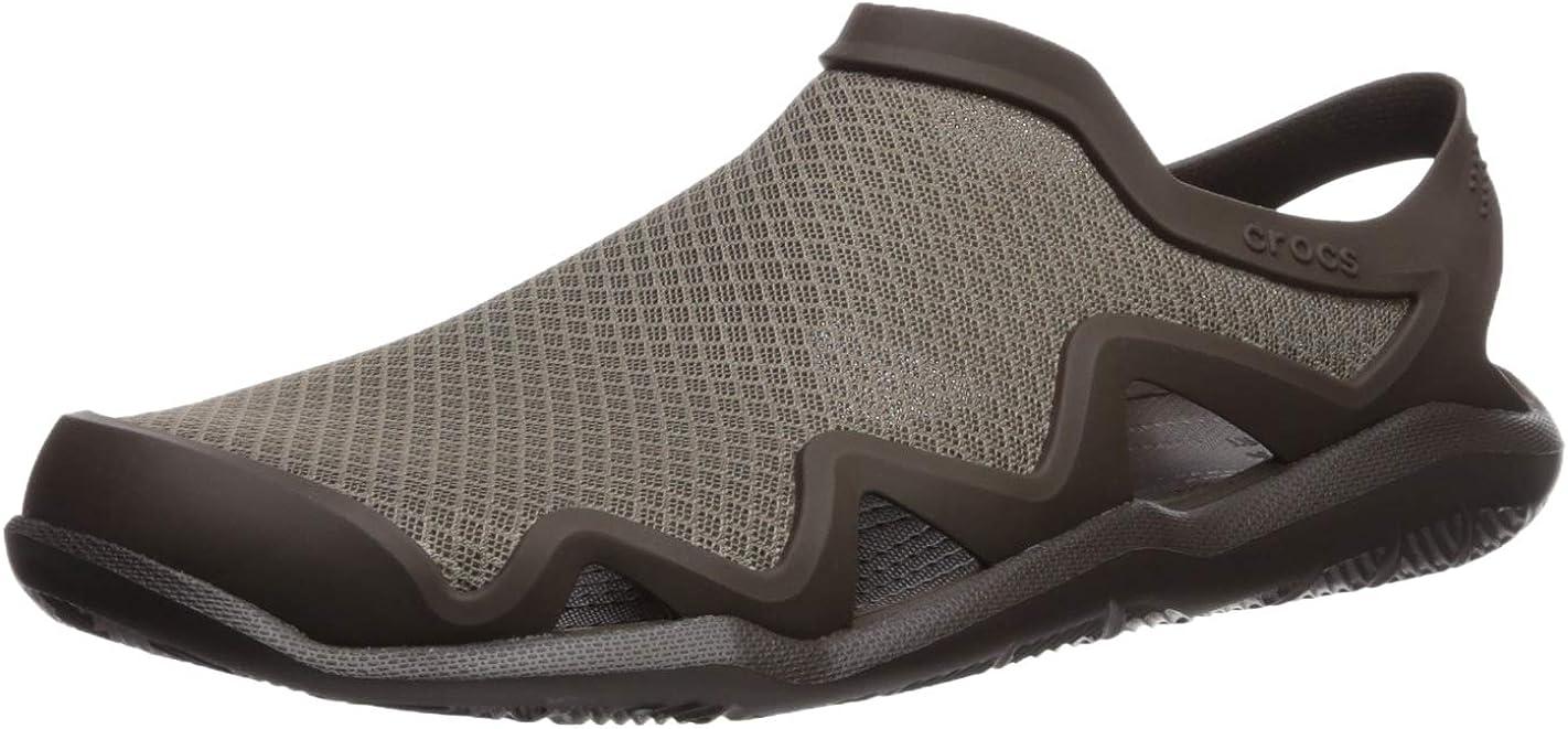 Crocs Men's Swiftwater Mesh Wave New arrival Shoe Max 73% OFF Water Sandals