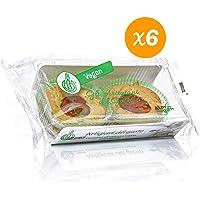 Crostatina vegana all'albicocca Mario Senza Glutine - Artigianale - Senza glutine - Senza lattosio - 6 confezioni da 160g (Totale 960g)