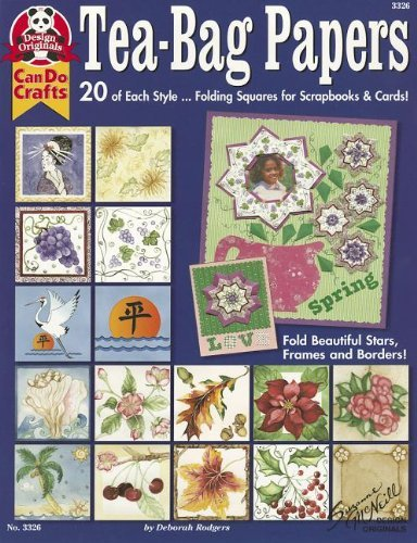 Tea-Bag Papers: 20 of Each Style...Folding Squares for Scrapbooks & Cards! by Rodgers, Deborah (2001) Paperback