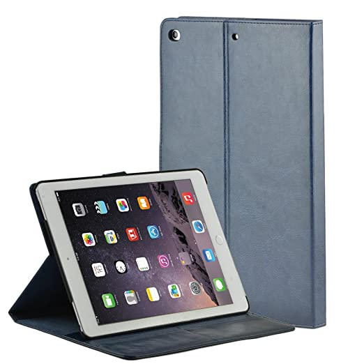 11 opinioni per Selectec Custodia Portafogli per Apple iPad pro 9.7, Cover Case in Pelle PU,