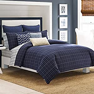 Full Queen Comforter Set Nautica Brindley Home Kitchen