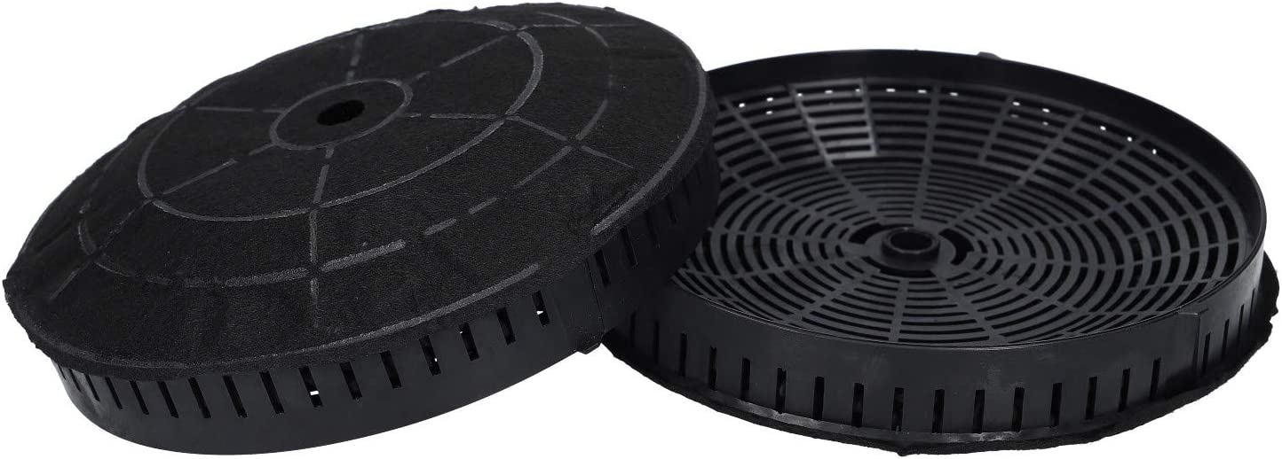 2 x filtro de carbón activado para Whirlpool 484000008824 Ikea Nyttig FIL 440 Elica CFC0038668 campana extractora: Amazon.es: Grandes electrodomésticos