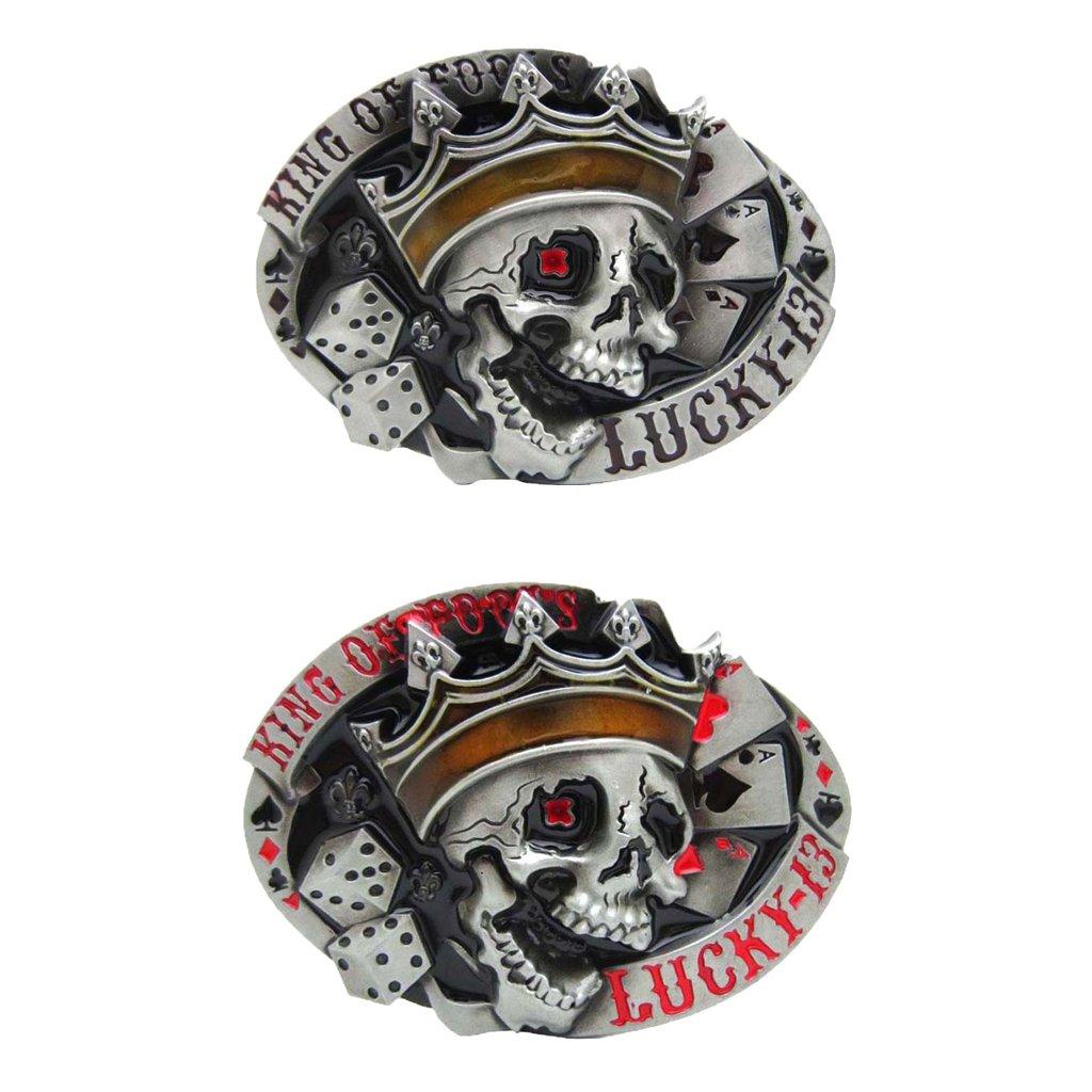 Aleaci/ón Cintur/ón Hebilla Autom/ática Modelo Animal Del Sujetador Correas Punk De La Pretina De La Hebilla Para Hombre