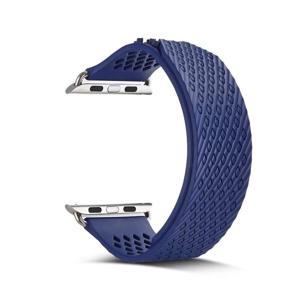 New for Apple Watch Band 42mm 42 for for Apple Watch Band Top for Apple Watch Band 38mm for Apple Series 3 Watch Band 42mm 40 40mm for Apple Watch Band Watch Holder for Women for (Blue, 38mm40mm)