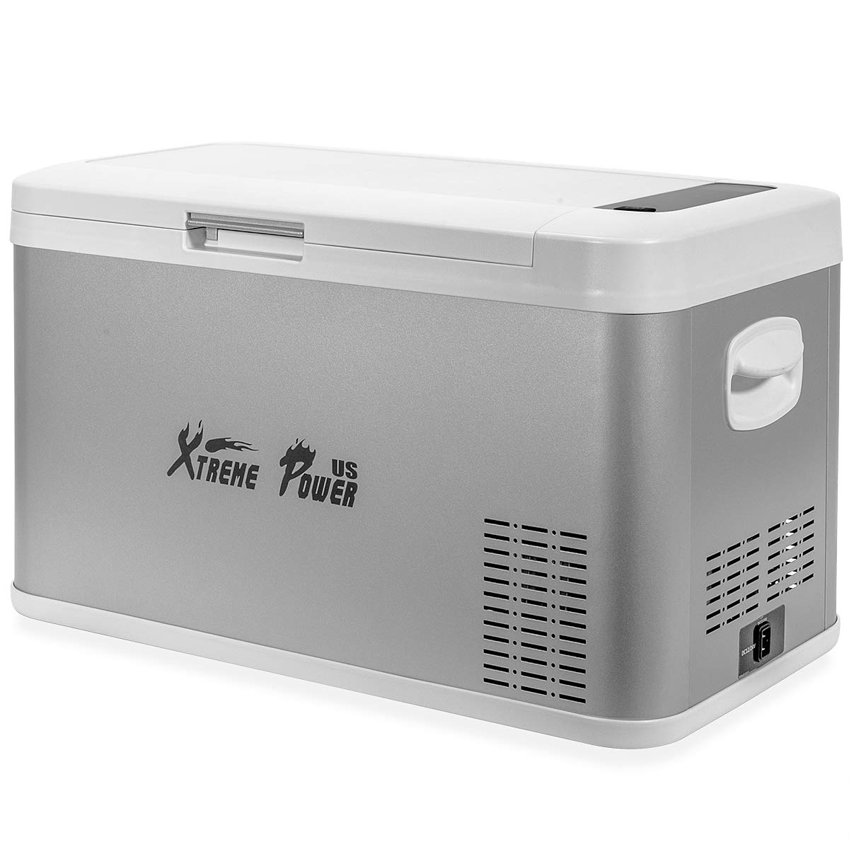 XtremepowerUS Portable Electric Cooler 26 Quart (Bluetooth Function) Refrigerator Adjustable Temperature Display Vehicle Car Mini Fridge ECO by XtremepowerUS (Image #1)