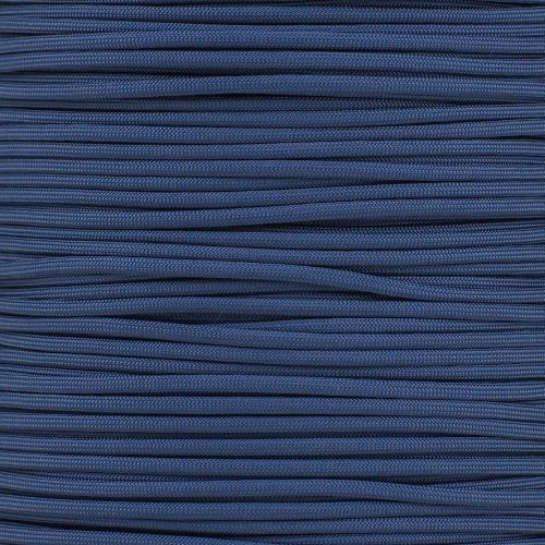 Paracord Planet 550 Cord Type III 7 Strand Paracord 100 Foot Hank (Blue Cord)