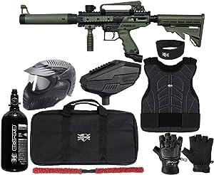 Action Village Tippmann Cronus Basic & Tactical Protector Paintball Gun Package Kit Level 2