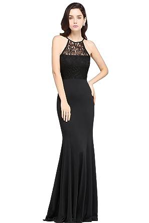 Accesorios para vestido de fiesta largo negro