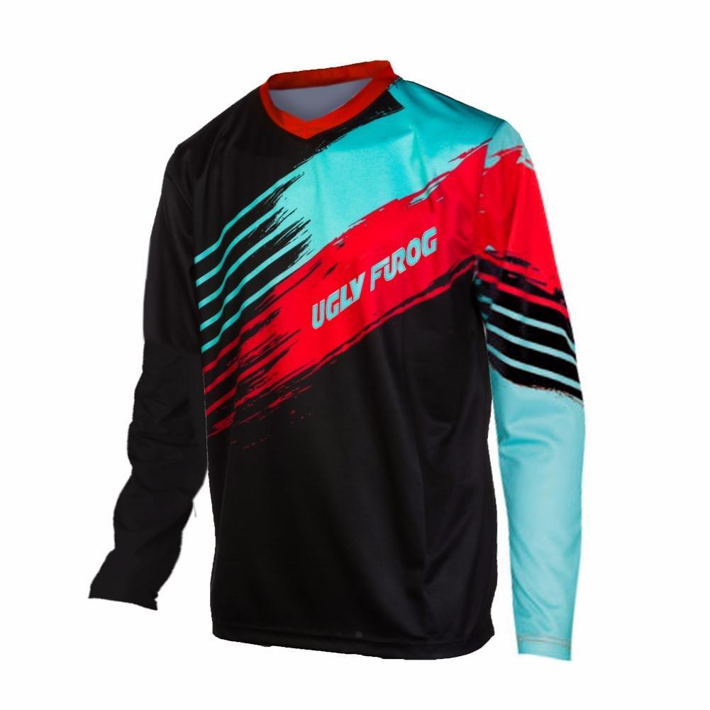Uglyfrog # 02 2017新作メンズBMX Bike JerseyメンズDownhill MontainバイクTop B077GT34GB Medium カラー26 カラー26 Medium