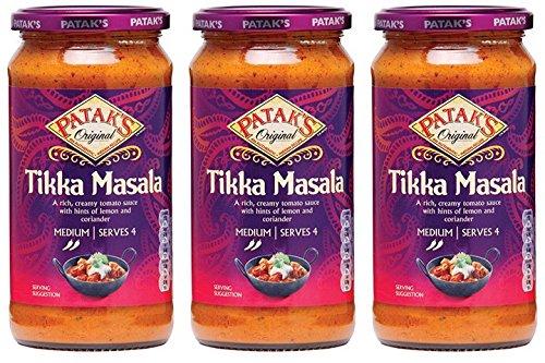 (3 PACK) - Pataks - Tikka Masala Paste | 283g | 3 PACK BUNDLE