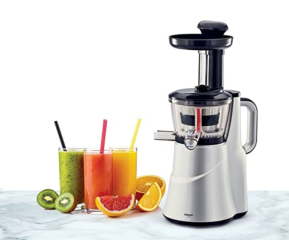 Eveready LIIS 150-Watt Slow Juicer (Silver) Centrifugal Juicers at amazon