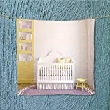 absorbent towel interior of nursery frontal view pictures in frames Soft Cotton Durable W19.7'' x W19.7''