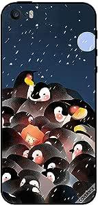 Case For iPhone 5s - Penguines Enjoying