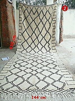 beni ourain tapis marocain fait main beni ouarain tapis 100 laine430144 - Tapis Marocain