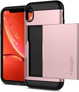Spigen Slim Armor CS Designed for iPhone XR Case (2018) - Rose Gold