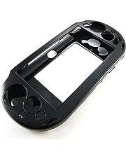 Pandaren PS Vita caso 2000 PSV delgada de aluminio metálica de protección (negro)
