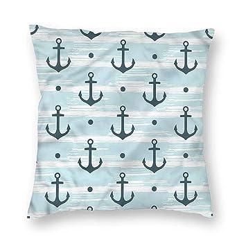 Amazon.com: Clayii Anchor - Cojín para sofá (fácil cuidado ...
