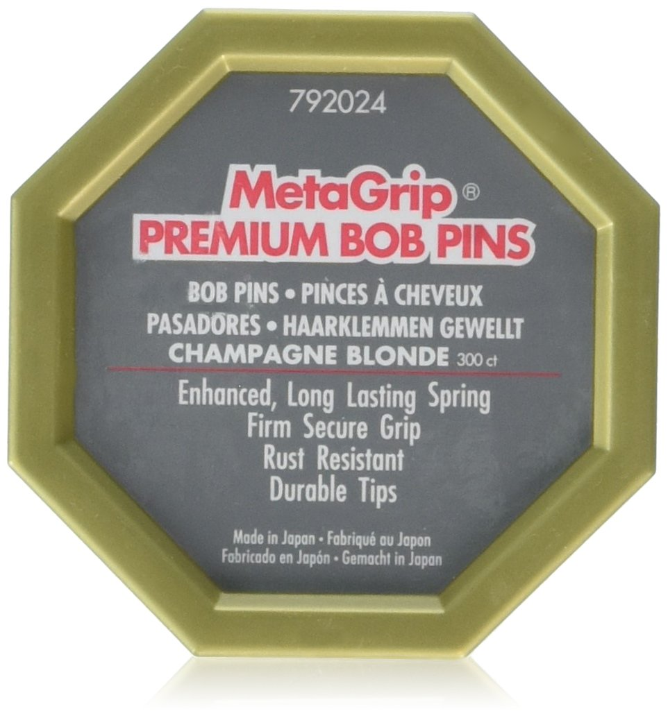 Champagne Blonde Premium Bob Pins product image