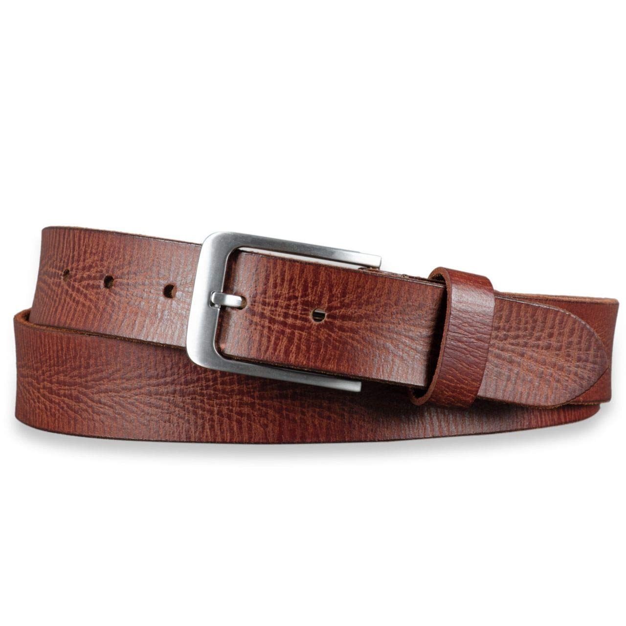 STILORD Cintur ó n de Cuero para Hombre de B ú falo Robusto Correa ... aef55cbb4980