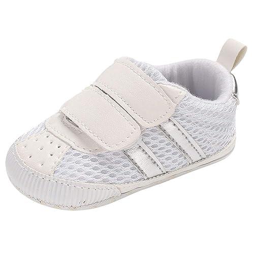 Zapatos 0-18 Meses,Logobeing Zapatos de Bebé Zapatos De Suela Blanda ...