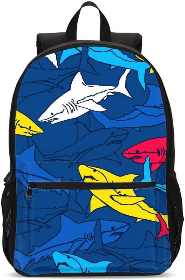 Delerain Mermaid School Backpack Lightweight Travel Daypack Shoulder Bag 17 Inch Plus Laptop Bag Book bag for 1-6th Grade Boys Girls Back to School