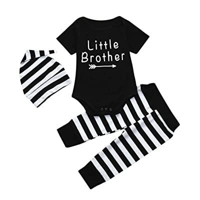 9ab5edaf6 DIGOOD for 0-18 Months,Toddler Baby Boys Letter T-Shirt Tops+