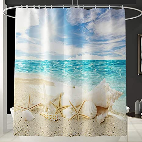 Amazon Com Bathroom Sets With Shower Curtain And Rugs And Accessories Stylish Shower Curtain Set With Non Slip Rug Toilet Lid Cover Bath Mat And 12 Hooks F 1pc Curtain Kitchen Dining
