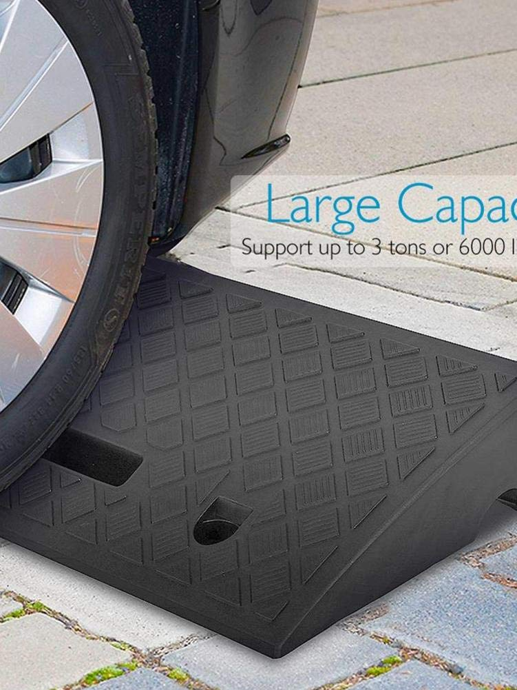 Scooter Motorcycle Bike Truck juanblue Car Kerb Ramps Curb Ramp 50x22x5cm // 50x27x7cm Wheelchair Mobility Portable Lightweight Plastic Threshold Ramps for Car
