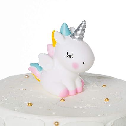 Decoración para tarta de unicornio para cumpleaños, bodas ...