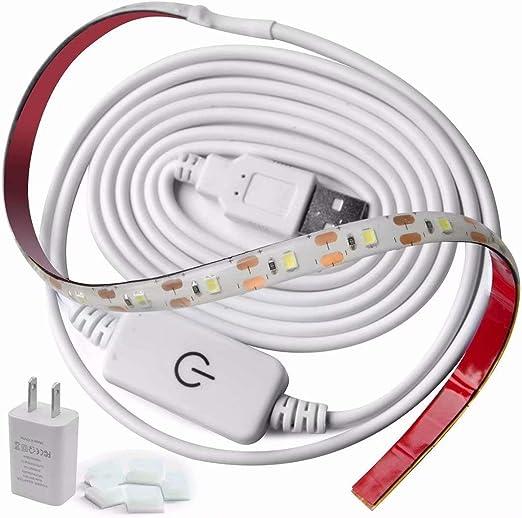 JUREN - Luz para máquina de coser, color blanco claro natural con ...