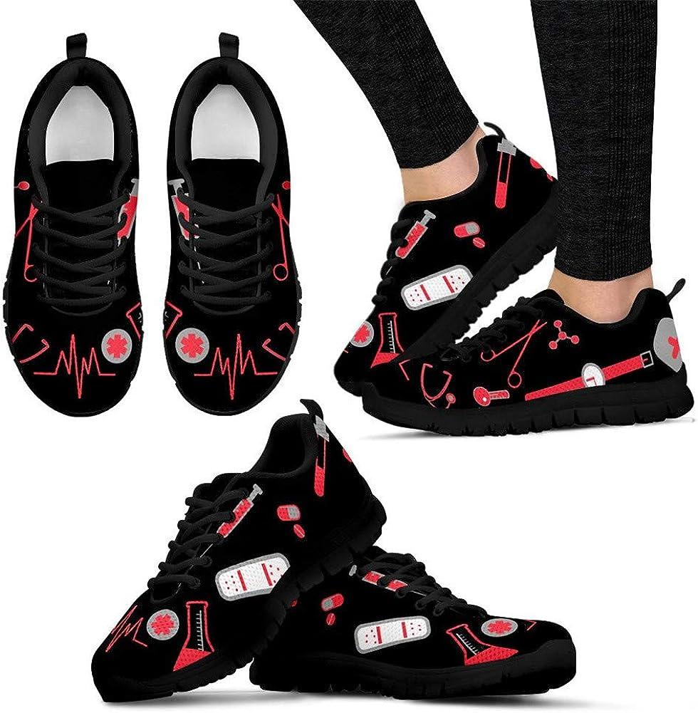 Coloranimal, scarpe da ginnastica da donna, leggere, per corsa, camminate, scarpe da tennis Funnypattern 4