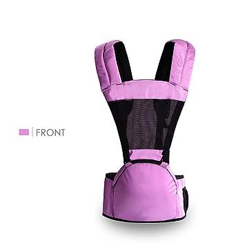 e73ea92fed47 SONARIN Avant Respirant Hipseat Baby Carrier,Porte-bébé,Polyester, Ergonomique, Multifonctionnel