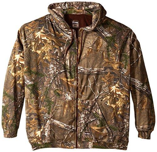 Berne Mens Big-Tall All-Season Thermal Lined Camouflage Sweatshirt