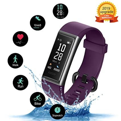 KUNGIX Pulsera de Inteligente Mujer, Smartwatch Impermeable ...