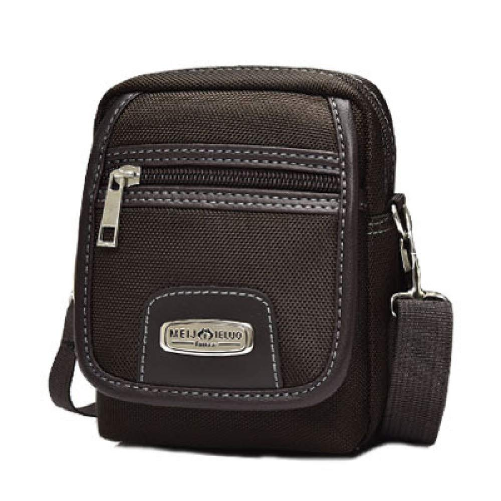 big face cat Mens Oxford cloth shoulder messenger bag fashion mens bag casual mens business bag