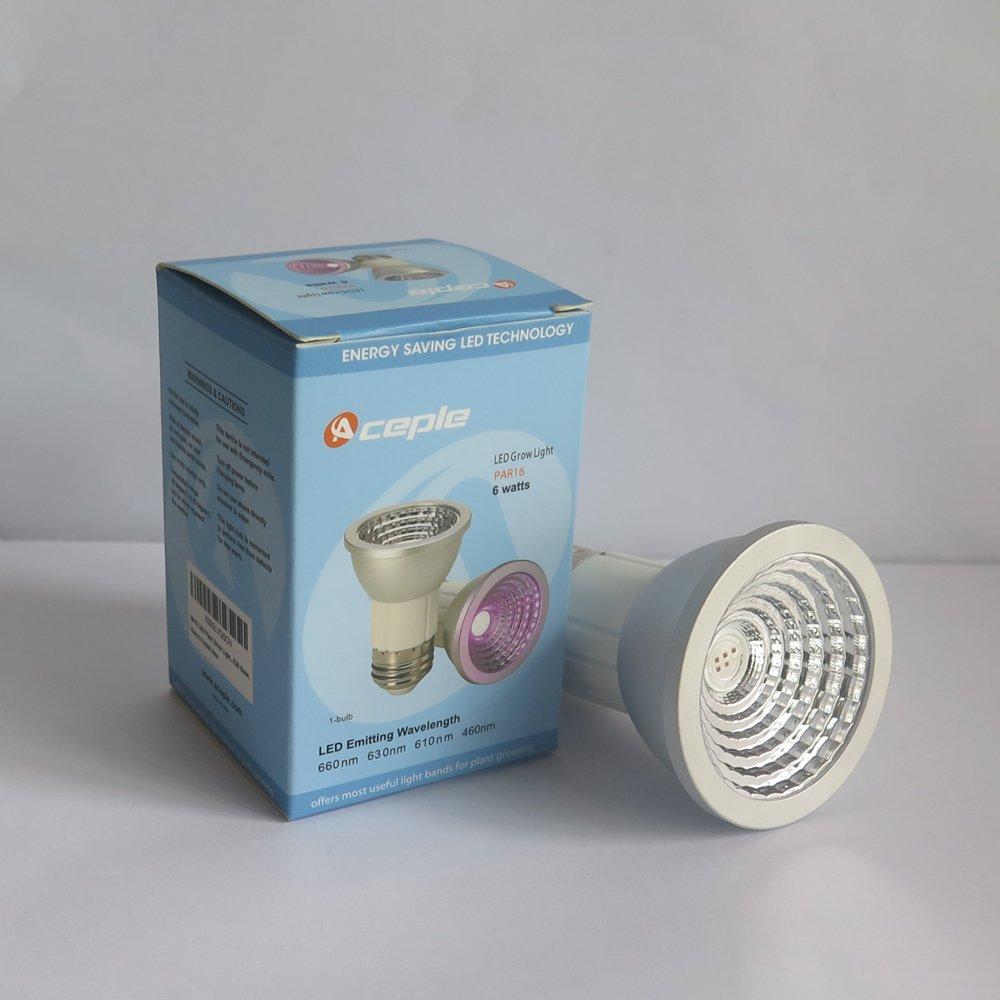 Amazon.com : Mr16 LED Plant Grow Light Bulb for Garden Greenhouse ...